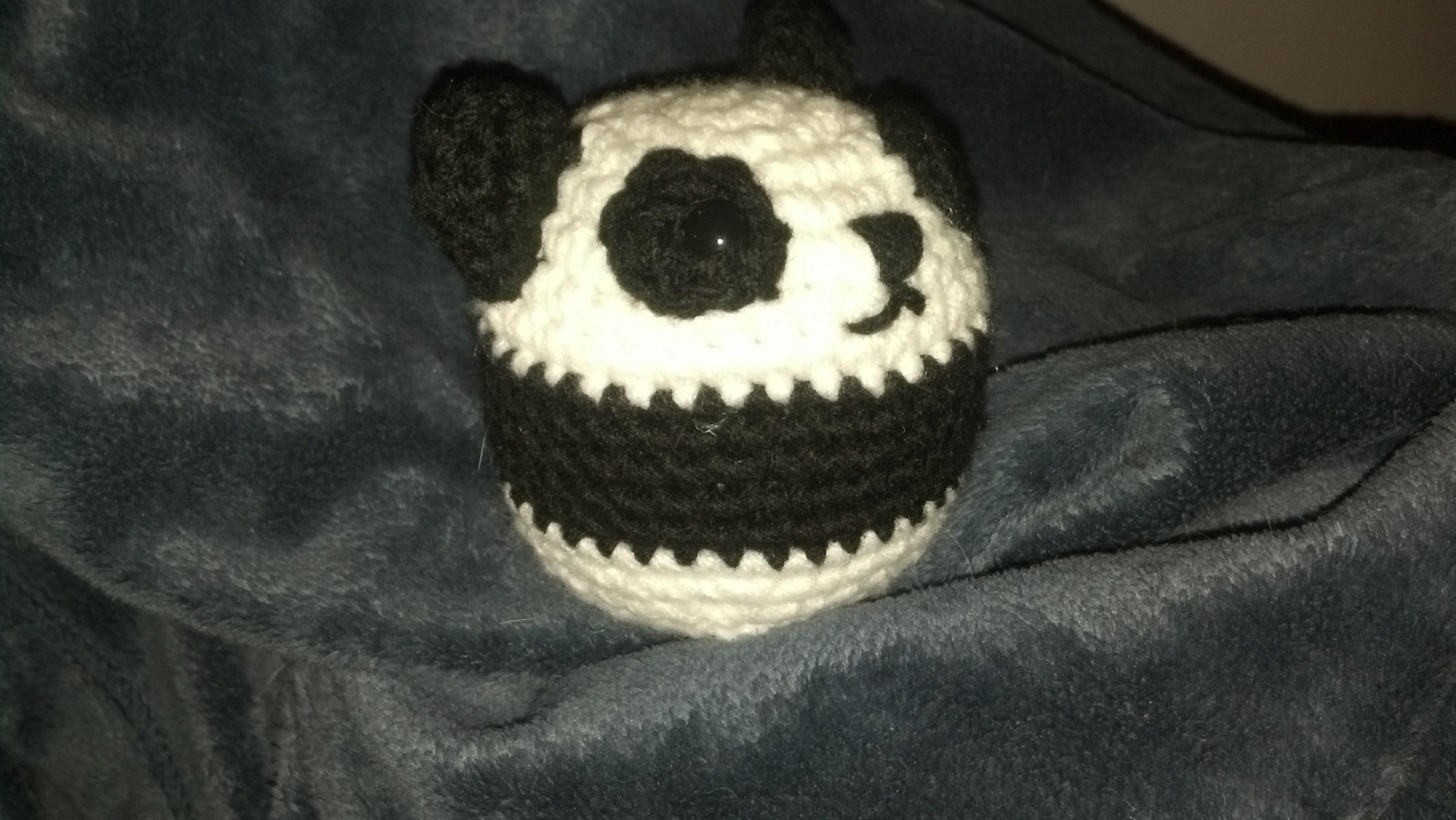 Animal balls: Panda | Mad Hooker Crochet!Mad Hooker Crochet!