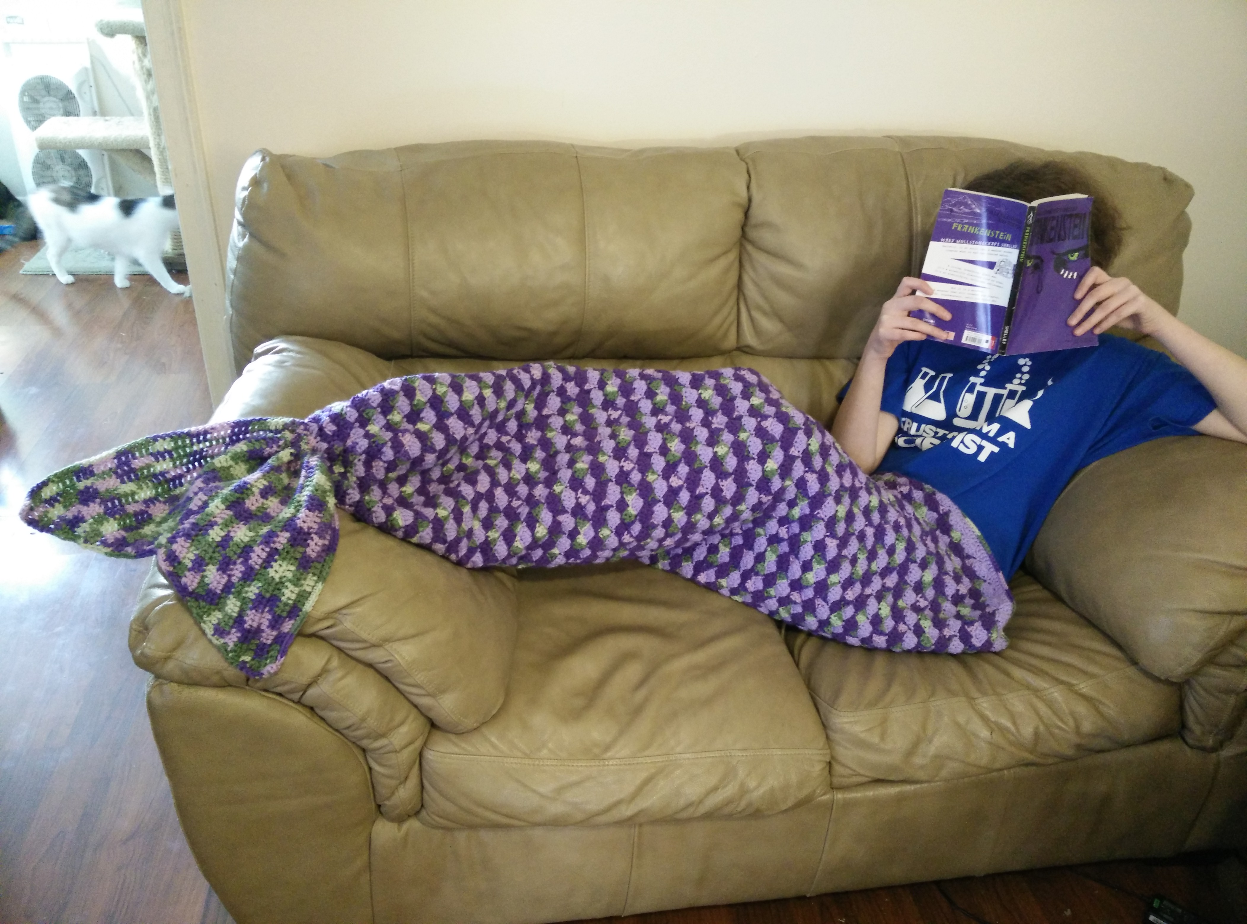 Mermaid Tail Blanket Knitting Pattern Free : Adult Sized Mermaid Lapghan Mad Hooker Crochet!Mad Hooker Crochet!