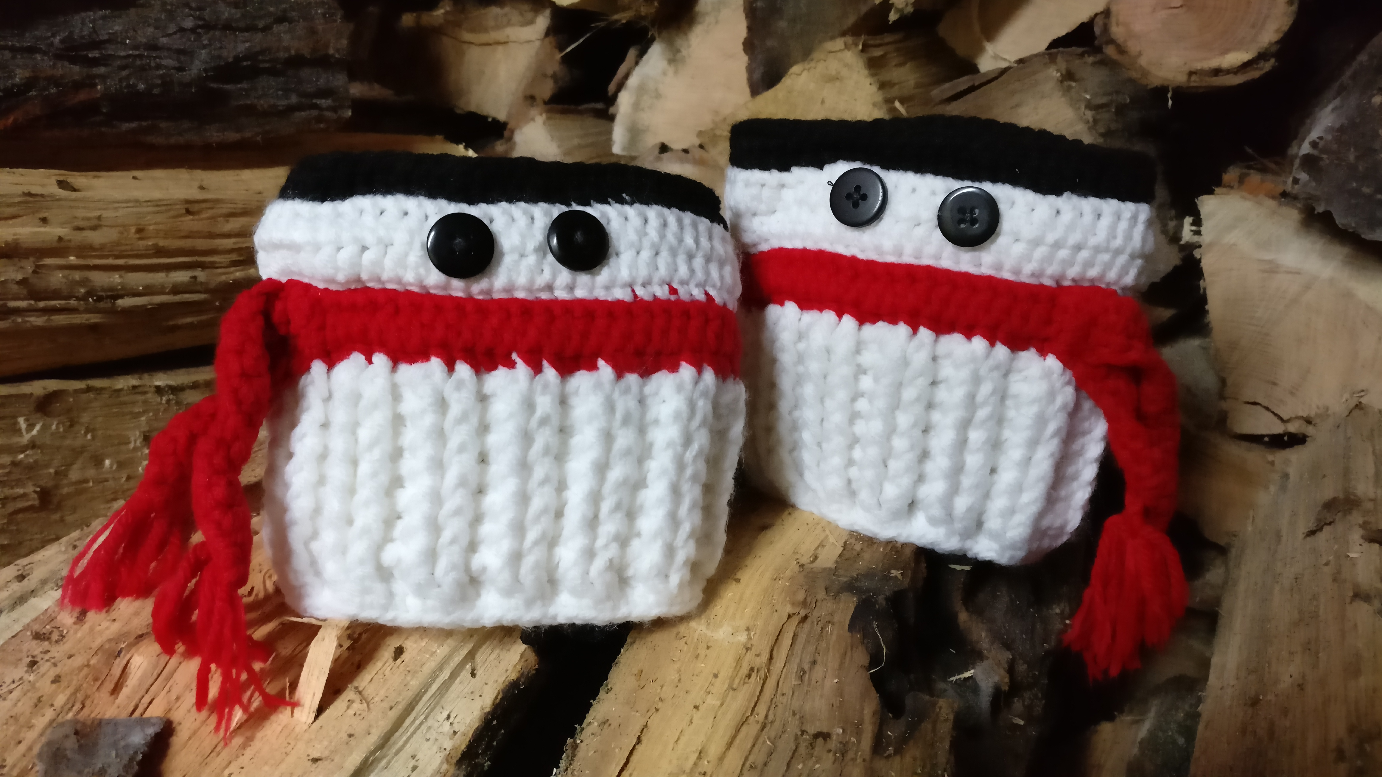 Snowman Boot Cuffs Mad Hooker Crochet